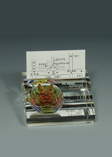 名片座镶琉璃-1410